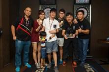 Team STYLO!: Ashley, Tomi, Alex, Larry and Sam Chu.