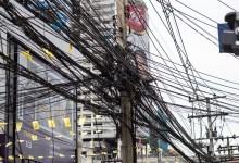 Photo of Бангкок очищают от электрических уличных кабелей