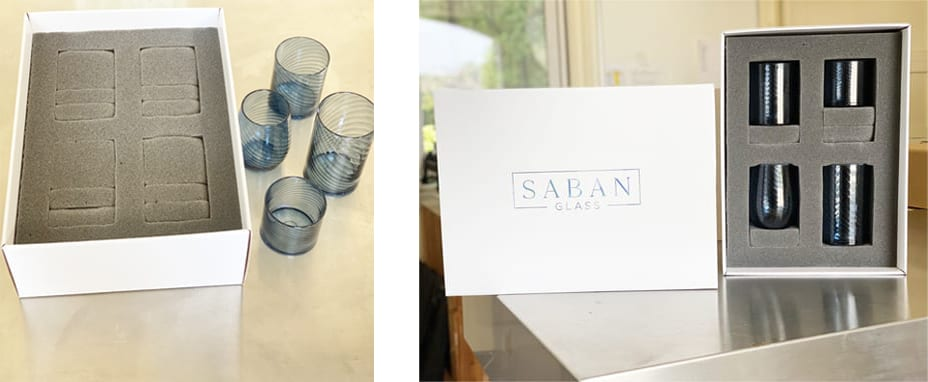 Saban Drinking Glasses Box