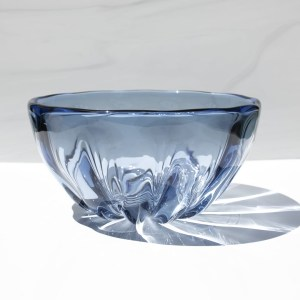 Illusion bowl pale steel blue