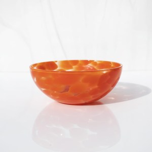 Poppy red bowl