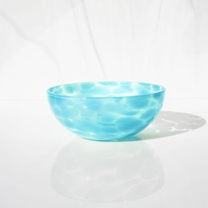 Water blue bowl