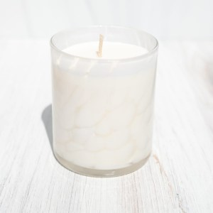 Opal white candle