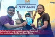 Barkas Banten Akun Instagram