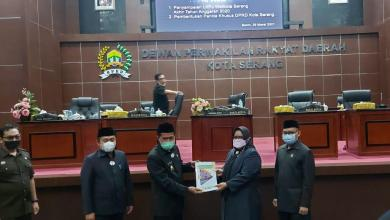 LKPJ DPRD Kota Serang