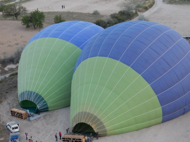Balloons waiting to be inflated