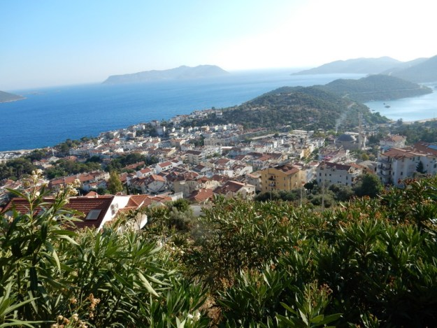 Looking towards the Çukurbağ Peninsula and Kastellorizo (Greece)