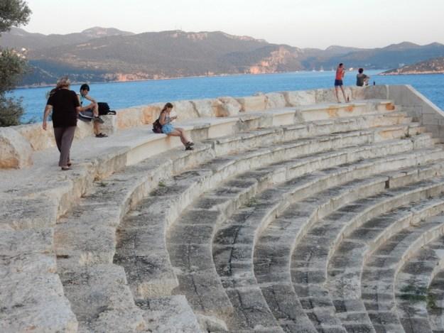 Restored amphitheatre aş