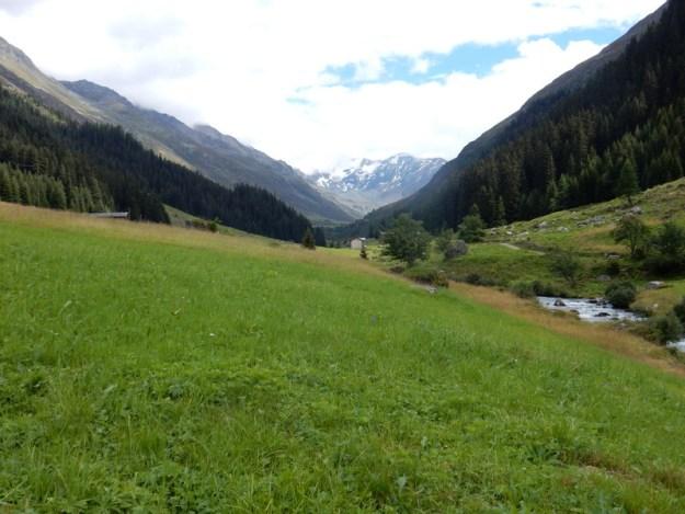 Dischma Valley above Davos, Switzerland