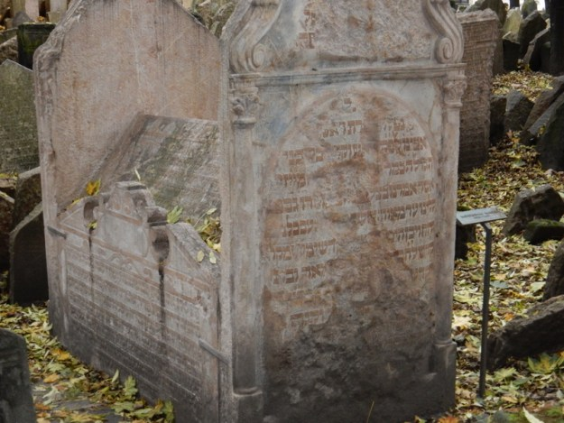 Old Jewish Cemetary.  Oldest tombstone dates to 1439.