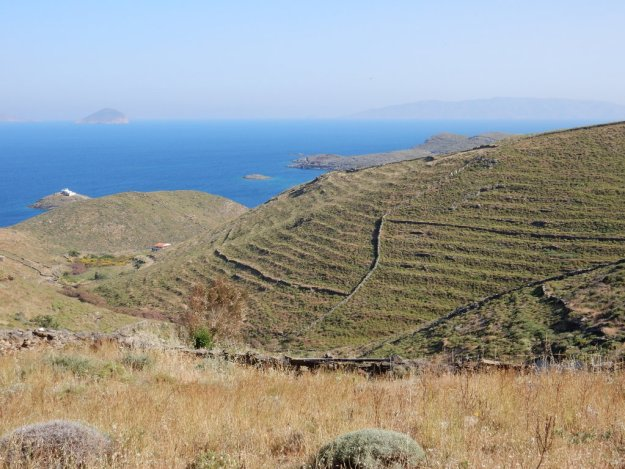 View from above Ayios Stefanos (Kythnos)