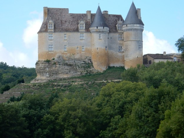 Chateau near Ste. Sabine-Born