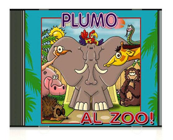 plumo en el zoo