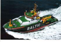 Baltic, remolcador de Salvamento para a empresa Fairplay e alugado ao estado alemán, 8500 Kw de potencia, constuído en Vigo.