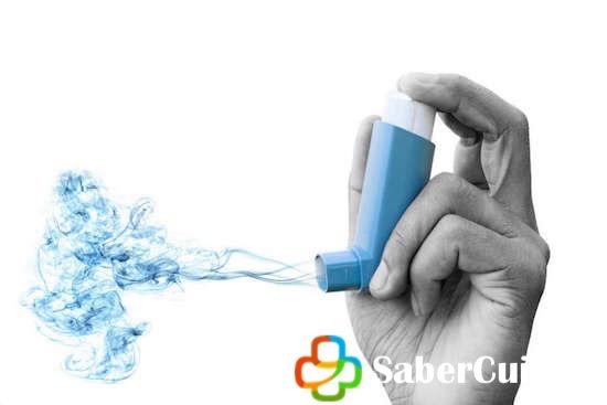 Inhalador portátil para asma