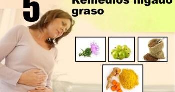 remedios naturales hígado graso
