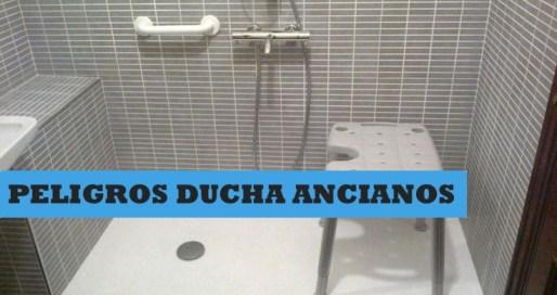 peligros de la ducha en ancianos