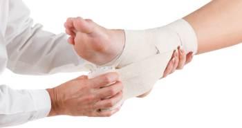 Cómo cuidar un esguince de tobillo