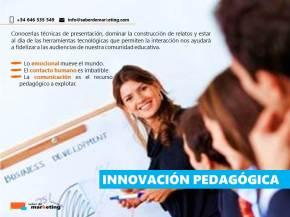innovacion pedagogica marketing educativvo