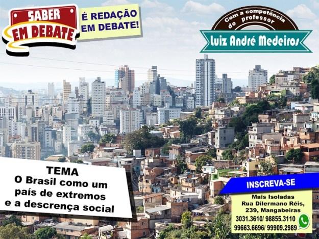 O Brasil como um país de extremos e a descrença social andre