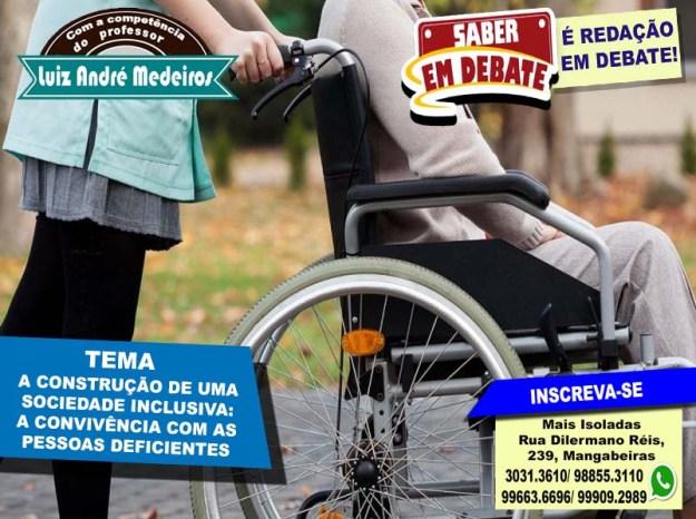 A construção de uma sociedade inclusiva - a convivência com as pessoas deficientes andré