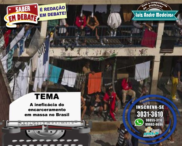 A ineficácia do encarceramento em massa no Brasil