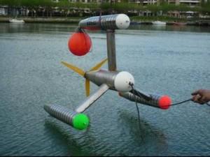 El prototipo se ha sometido a maniobras y pruebas de remolque en el mar. / UPM