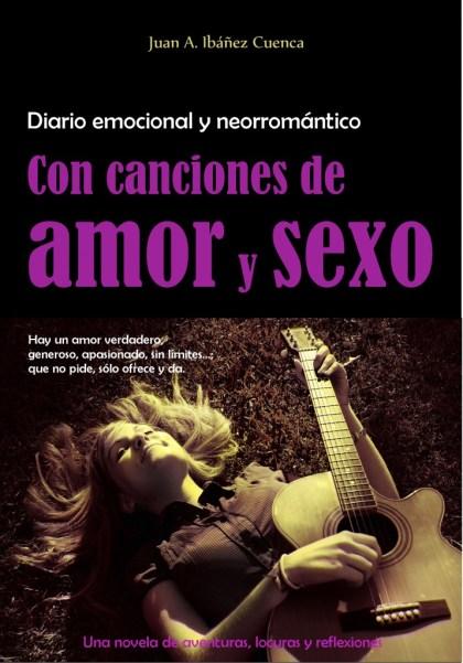 Portada Diario emocional y romántico Con canciones de amor y sexo