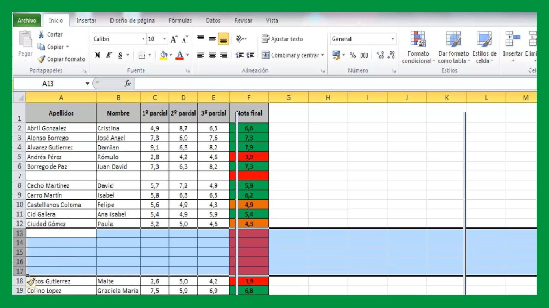 Trucos Excel Archivos