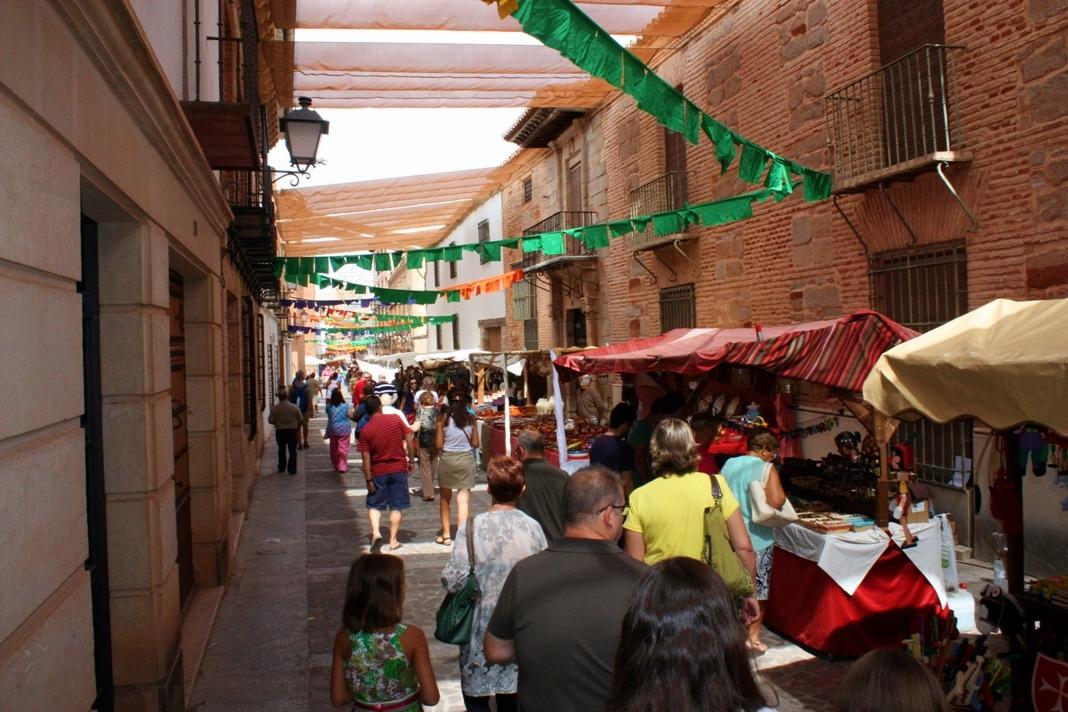 Mercado Cervantino. Autor. Balcón de Infantes