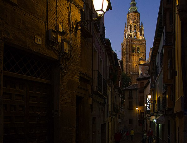 Ruta nocturna Toledo Catedral