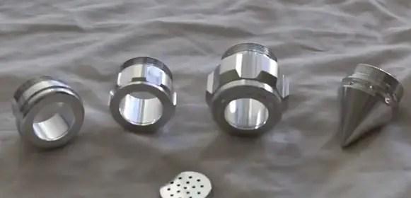 The Custom Saber Shop MHS and MPS lightsaber parts