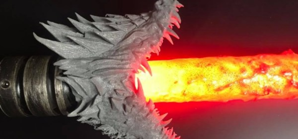 Lightsaber Blade Shroud Dragon by MU4MA6 (Photo Credit: MU4MA6)