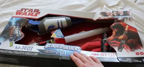 Star Wars Bladebuildings mix-and-match lightsaber set