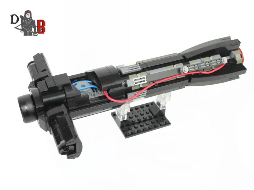 Demonhunterbrick LEGO lightsaber