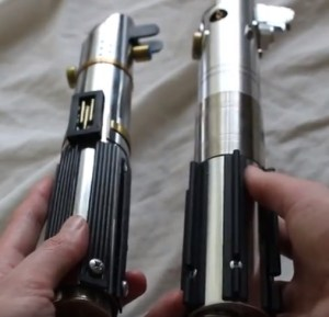 high-council-sabers-starkiller-lightsaber-hilt-compare-to-rey-jedi-training