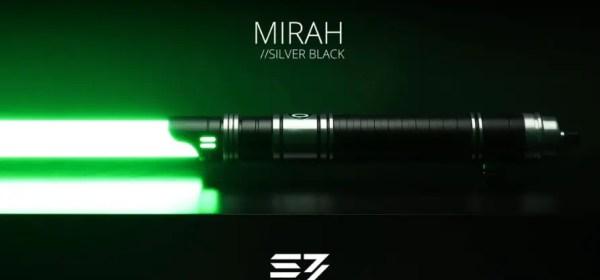 Sabertrio Mirah lightsaber