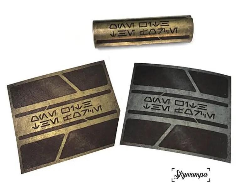 Skywampa power cell battery decals