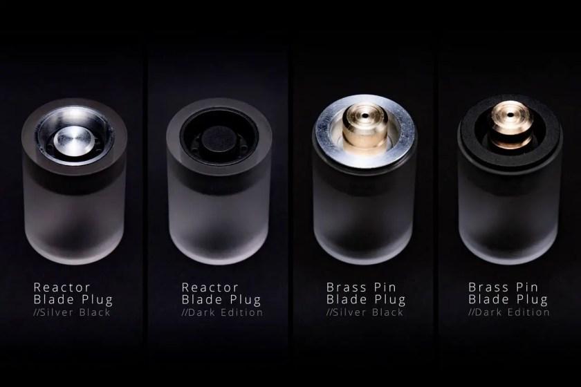 Sabertrio lightsaber blade plugs