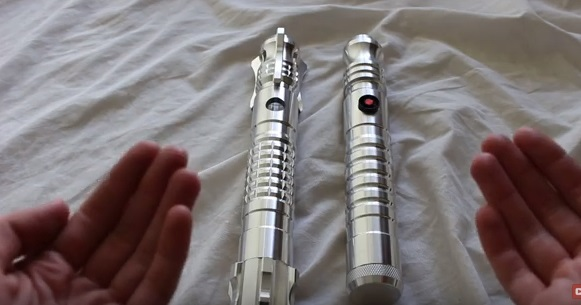 Ultrasabers Initiate V5 vs V4 lightsaber