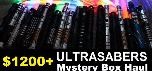 Ultrasabers Mystery Box Unboxing