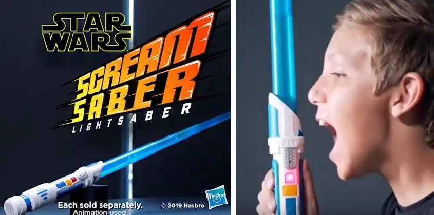 Afbeeldingsresultaat voor star wars scream saber lightsaber