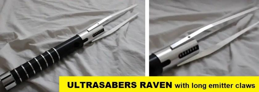 Ultrasabers Raven lightsaber
