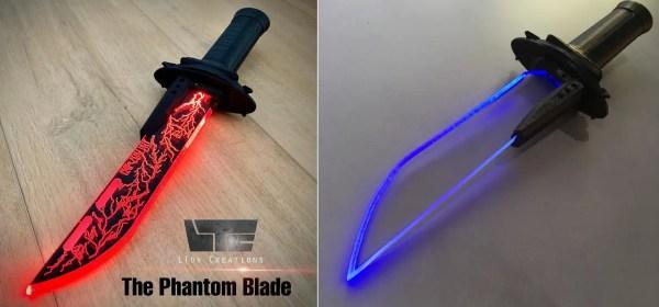 Lightsaber dagger (vibrodagger)