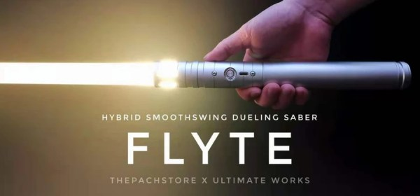 The Pach Store x Ultimate Works Flyte lightsaber