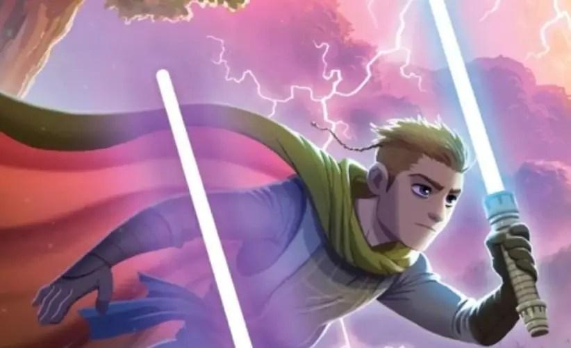 Imri Cantaros lightsaber (High Republic)