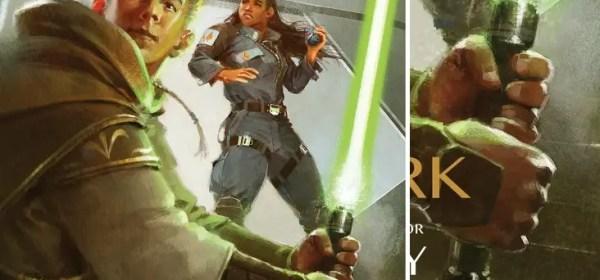 Reath Silas lightsaber (High Republic era lightsaber)