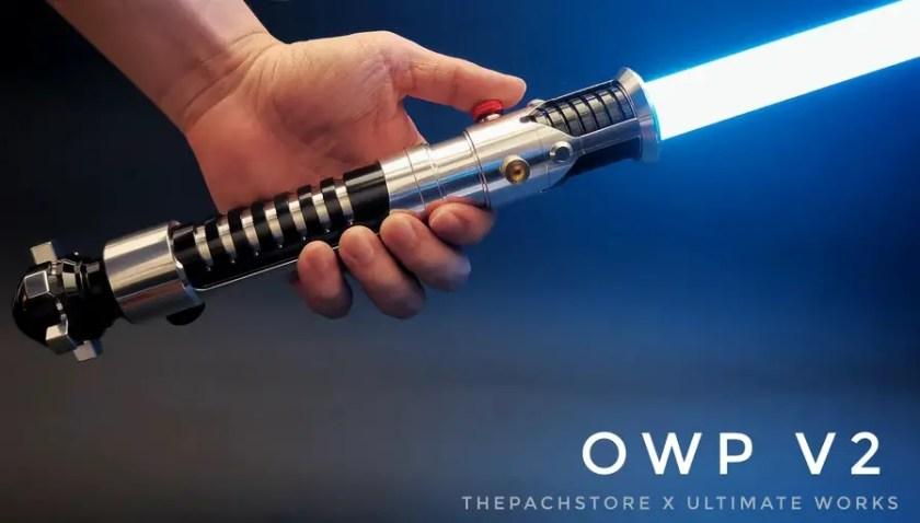Ultimate Works OWP V2 lightsaber
