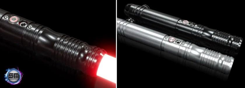 SaberMach Xentienl lightsaber (budget RGB sound saber)