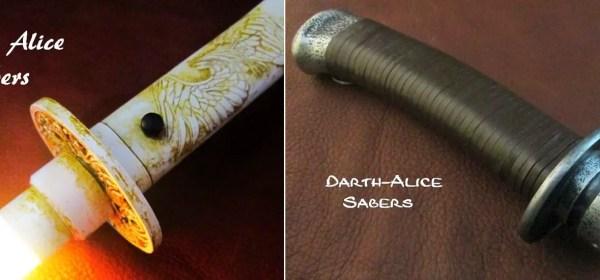 Darth Alice Sabers